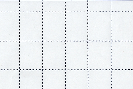Sheet of 40 Small Blank Artistamps/Faux Postes by Anna Banana