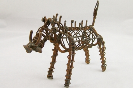 Barbed Wire Animal (Supports Worldwide Animal Rights)