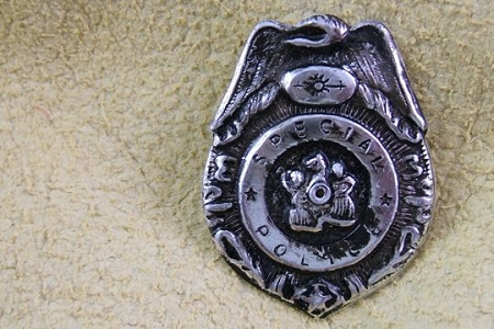 Vintage Novelty Special Police Badge (Not for Children)