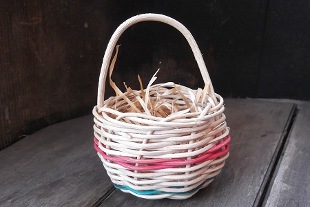 Small Wicker Basket - Over 20 Years Old