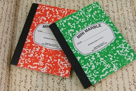 Mini Composition Book - Mix and Match Colors