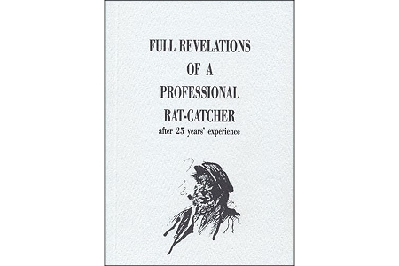 Full Revelations of a Professional Rat-Catcher Facsimile Book