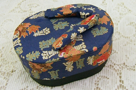 Vintage Paper Japanese Slipper Box