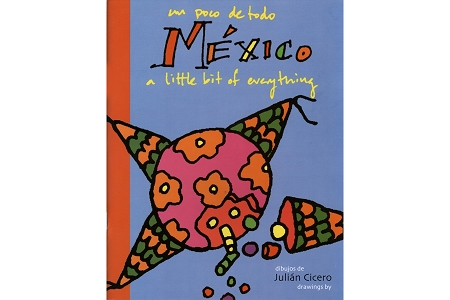 Mexico - Un Poco de Todo Coloring Book with Free Mini Crayons