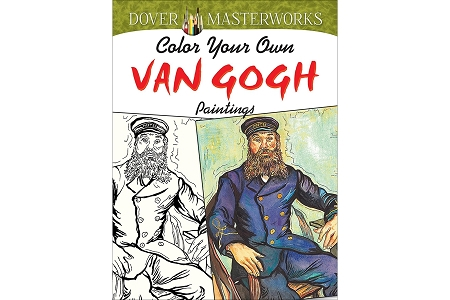 Color Your Own Van Gogh Paintings Coloring Book