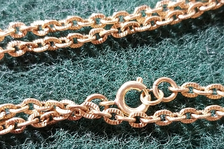Gorgeous SOLID Bronze Chain