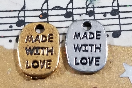 Made with Love Charm