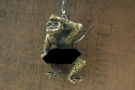 Rude Monkey Charm or Pendant<br><b><font color=blueviolet>MATURE AUDIENCES ONLY</font></b>