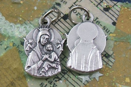 Our Lady of Perpetual Help Charm or Medal