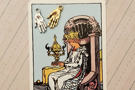 Golden Palm Reading (Palmistry) Hand