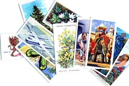 Vintage Cigarette Cards - Package of 10