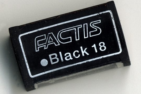 Soft Black 18 Factis Eraser for Charcoal, Graphite, Colored Pencils, Pastels & More