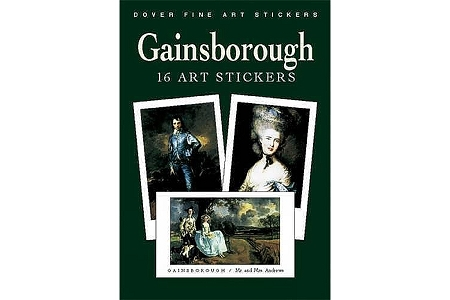 Thomas Gainsborough Fine Art Stickers (including The Blue Boy)