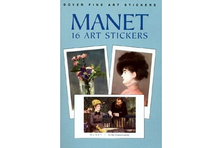 Édouard Manet (Edward Manet) Fine Art Stickers: