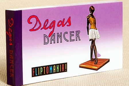 Old Fashioned Degas Dancer Flip Book