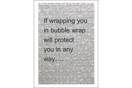 Inspirational Support Bubble Wrap Gift Card