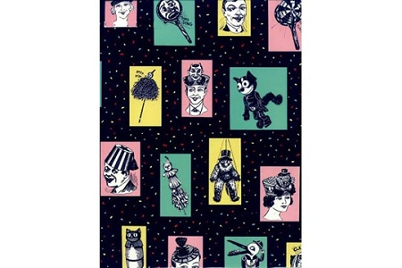 Retro Party Gift Wrap