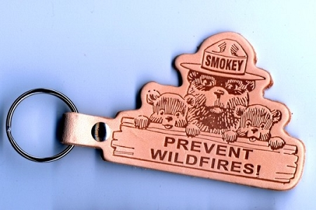 Smokey Bear Backpack Hanger or Key Chain