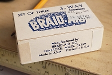 3-Way Braid Aid Kit - Vintage - Never Used