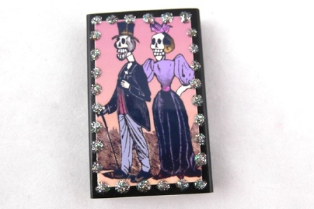 Catrin and Catrina Matchbox with Matches