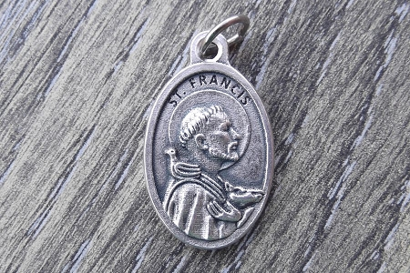Saint Francis and Animals Medal