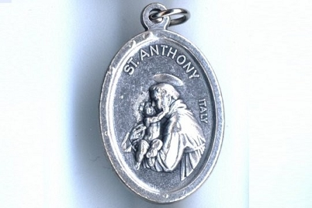 St Anthony Medal - Patron Saint of Lost Things