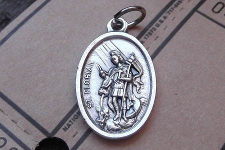 St. Florian Medal - Patron of Firefighters