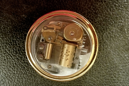 AS TIME GOES BY - Reuge Music Box Movement (NOS)