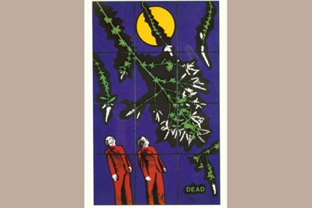 Art Postcard - DEAD by Gilbert and George