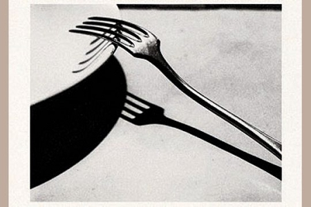 Fork, Paris, 1928. Art Postcard