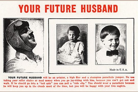 Your Future Husband Postcard