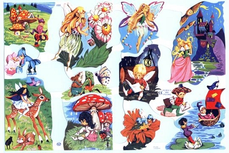 Elves & Fairies Scraps
