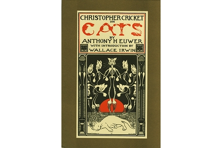 Christopher Cricket on Cats, Facsimile Reproduction Book - Originally Printed in 1909