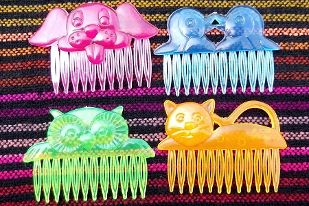 Vintage Carnival Prize Comb - Choose Your Animal