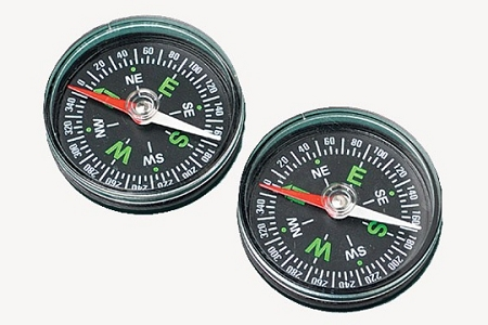 Small Working Magnetic Compass