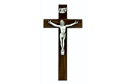 Superb Wooden Sign Language Crucifix -