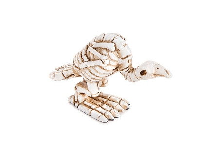 Spooky Skeleton Buzzard (Crow)