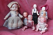 Choice of Vintage Celluloid, Composition or Hard Plastic Doll<br>Mix & Match for Quantity Pricing