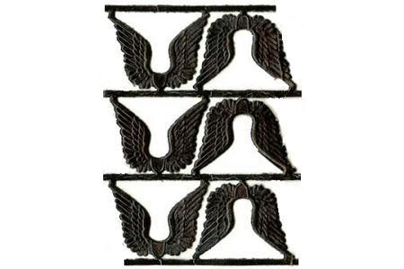Mini Black Angel Wings Dresdens (6)