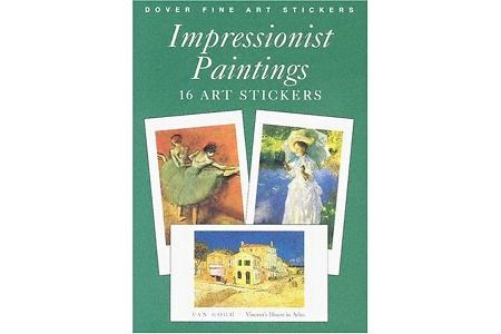 Impressionist Paintings Fine Art Stickers