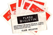 6 Comical Flash Bulletins in the Original Envelope from the 1950s (Some Risqué)
