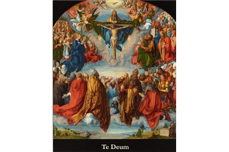 You are God (Te Deum) LaminatedHoly Card