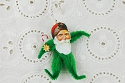 Exclusive Chenille Santa Claus Ornament Kit<br><i>&nbsp&nbsp&nbspWOW! Kit Now Makes 3 Santas!</i>