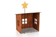 Wooden Nativity Creche Kit