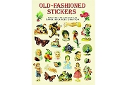 Large Format Stickers - Old-Fashioned Stickers: 89 Full-Color Pressure-Sensitive Designs