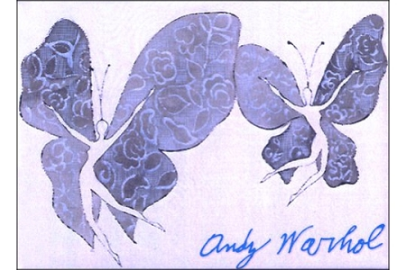 Butterfly Ladies by Andy Warhol Magnet