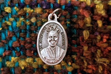 St Josephine Bakhita Medal - Patron Saint of Victims and Survivors of Human Trafficking