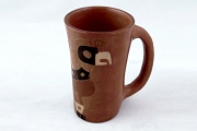 Vintage Decorative South American Mug