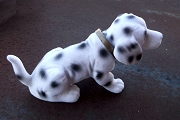 Dolly the Dalmatian Flocked Nodder