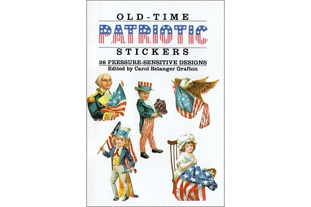 Old-Time Patriotic Stickers